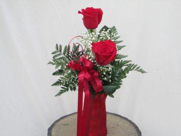 Hearts Aflutter Vase