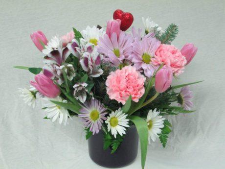Cupid Vase